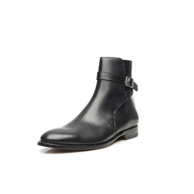 Men's Black Color Jodhpurs High Ank..